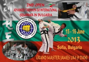 GM Lim Ching Sing, ІХ Dan TKD seminar in Bulgaria, 15-16 June 2013